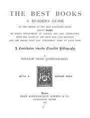 The best books by Sonnenschein, William Swan