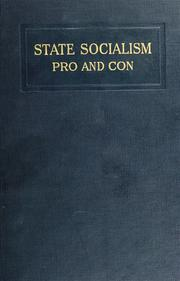 State socialism, pro and con PDF