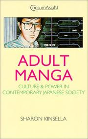 Cover of: Adult manga by Sharon Kinsella