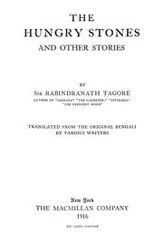 Cover of: The hungry stones by Rabindranath Tagore