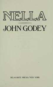 Cover of: Nella by John Godey