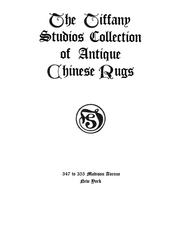 The Tiffany studios collection of antique Chinese rugs PDF