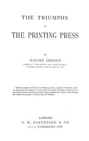 The triumphs of the printing press PDF