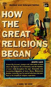 How the great religions began PDF