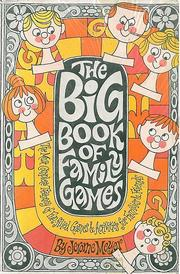 Big Book of Family Games by Jerome Sydney Meyer