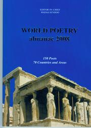 Cover of: WORLD POETRY ALMANAC 2008, 150 Poets from 70 Countries by WORLD POETRY ALMANAC