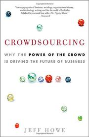 Cover of: Crowdsourcing by Jeff Howe