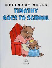 Timothy goes to school PDF