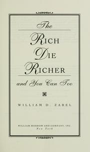 The rich die richer and you can too PDF