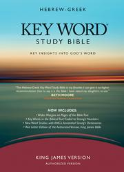 Hebrew-Greek Key Word Study Bible PDF