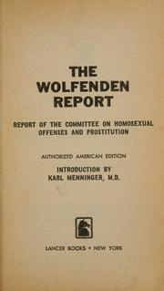 the wolfenden report