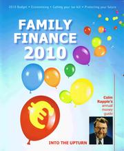 Family finance by Colm Rapple