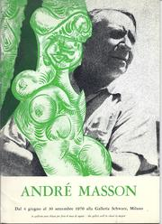 André Masson by Masson, André