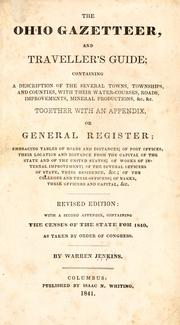 The Ohio gazetteer, and traveler's guide by Warren Jenkins