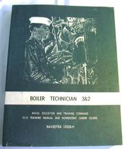 Cover of: Boiler technician 3 & 2 by Phillip D. May