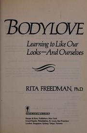 Bodylove by Rita Jackaway Freedman