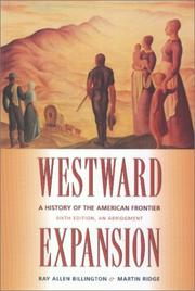 Westward expansion by Ray Allen Billington