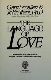 The language of love PDF