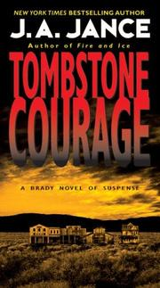 Tombstone Courage by J. A. Jance
