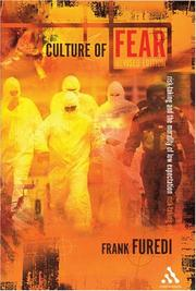 Culture of Fear by Frank Furedi, Frank Füredi