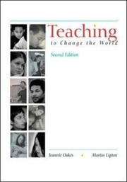 Teaching to change the world PDF