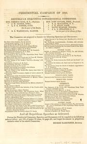 Bill and report of John A. Bingham, and vote on its passage