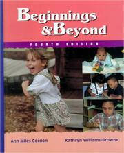 Beginnings & beyond by Ann Miles Gordon