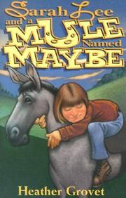 Sarah Lee and a mule named Maybe PDF