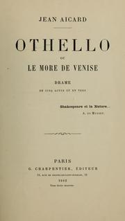 Cover of: Othello by William Shakespeare