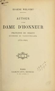 Autour dune dame dhonneur
