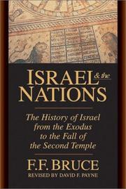 Israel and the nations by Bruce, F. F.