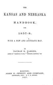The Kansas & Nebraska hand-book by Nathan Howe Parker
