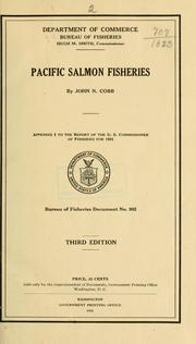 Pacific salmon fisheries by John N. Cobb