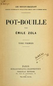 Pot-bouille by Émile Zola