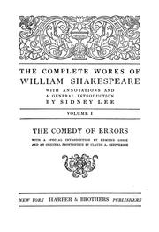 Cover of: The complete works of William Shakespeare by William Shakespeare