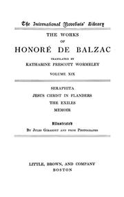 The works of Honoré de Balzac.. by Honoré de Balzac