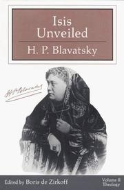 Cover of: Isis unveiled by H. P. Blavatsky