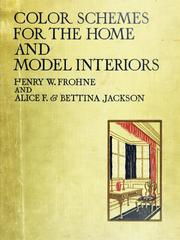 Color schemes for the home and model interiors
