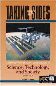 Taking Sides: Clashing Views on Controversial Issues in Science, Technology, and Society (Taking Sides: Clashing Views on Controversial Issues in Science, Technology and Society) PDF