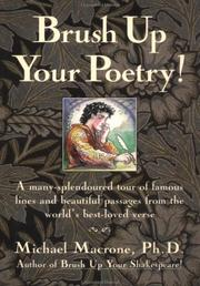 Brush up your poetry! by Michael Macrone