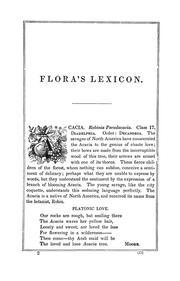 Floras lexicon