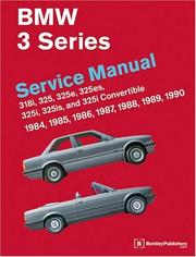 Cover of: BMW 3 Series (E30) Service Manual by Ross Cox