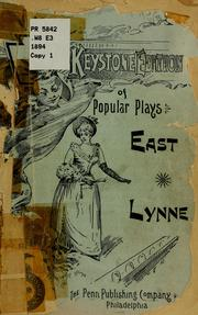 Cover of: East Lynne by Wood, Henry Mrs.