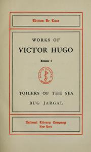 Cover of: Toilers of the sea by Victor Hugo