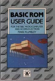 The BASIC ROM user guide by Mark D. Plumbley