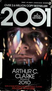 Cover of: 2001, a space odyssey by Arthur C. Clarke
