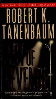 Cover of: Act of revenge by Robert Tanenbaum