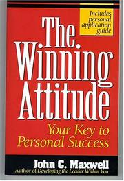 Your attitude by John C. Maxwell