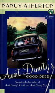Cover of: Aunt Dimity&#39;s good deed by Nancy Atherton