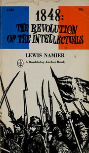 Cover of: 1848 by Namier, Lewis Bernstein Sir